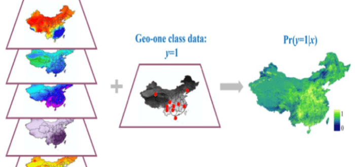 Methods and Applications of Geographic One-class Data