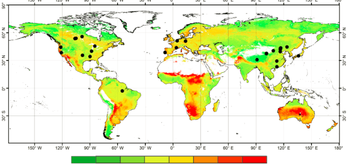 Monitoring and analyzing the spatial and temporal changes of forest resource information