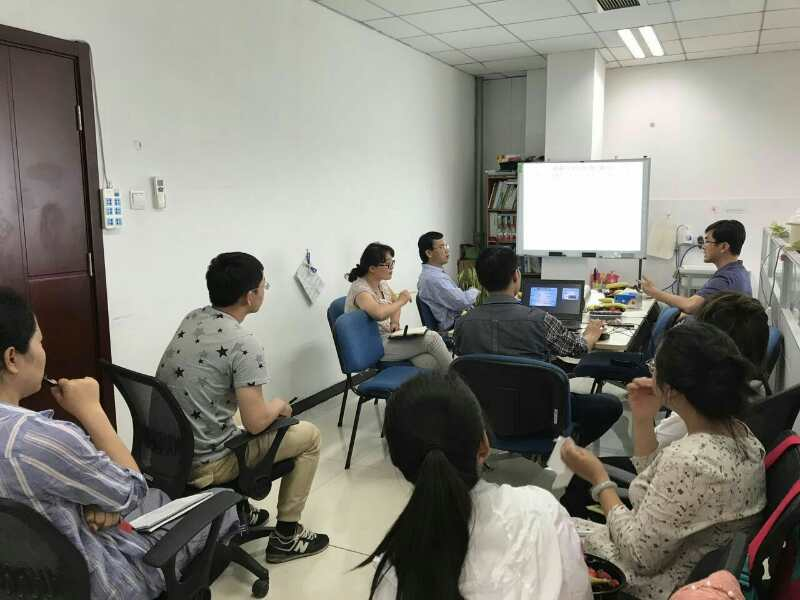 Welcome! Prof. Henry Lin of Pennsylvania State University came for academic communication!