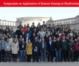We have successfully held the Symposium on Application of Remote Sensing in Biodiversity !