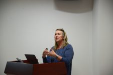 Dr. Maggi Kelly visited and gave a lecture on spatial data science